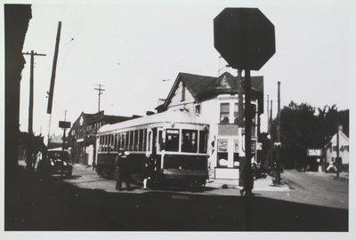 NS&T Car near St. Paul and Geneva Streets