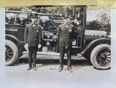 Port Dalhousie's First Fire Truck