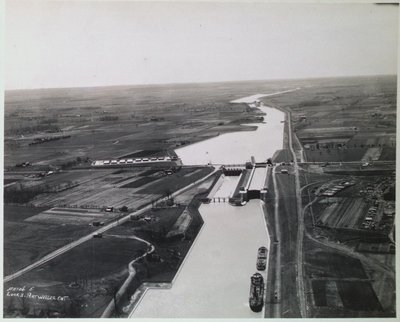 Lock 1 at Port Weller Looking South