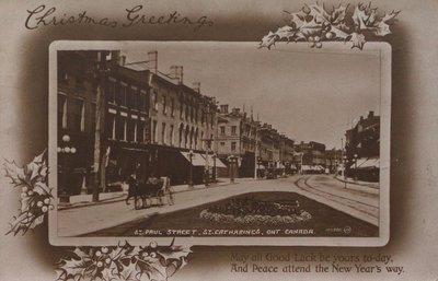 St. Paul Street at Ontario Street