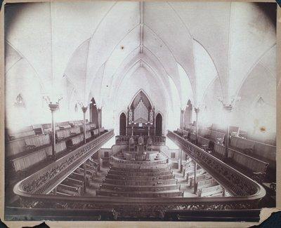 Original Interior of Welland Avenue Methodist Church