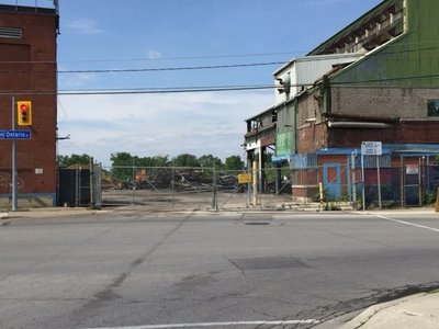 The Dismantling of the Ontario Street General Motors Plant