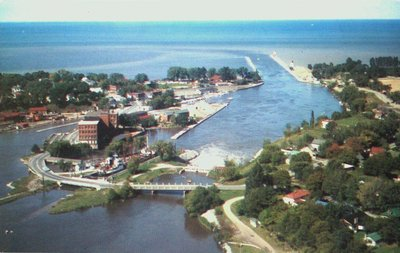 Aerial View of Port Dalhousie and Harbour
