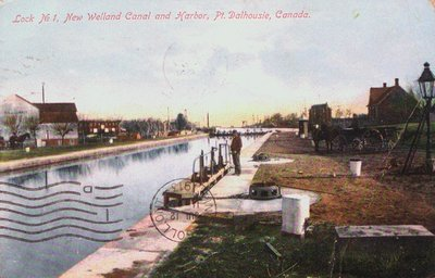 Lock 1 on the New Welland Canal (Third)