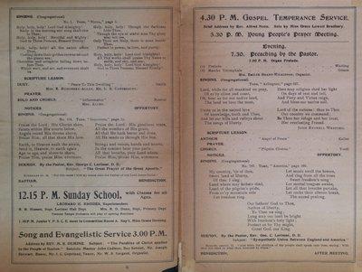 Teresa Vanderburgh's Musical Scrapbook #2 - Tremont Temple Baptist Church Church Service