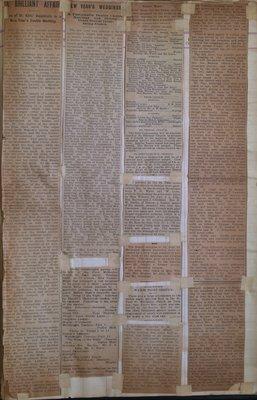 Teresa Vanderburgh's Musical Scrapbook #2 - Newspaper Clippings