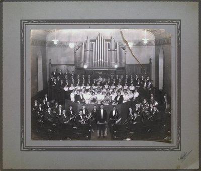 An Orchestra and Choir at Welland Avenue United Church