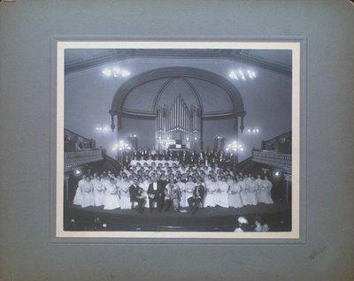 The Choir at St. Paul Street Methodist Church