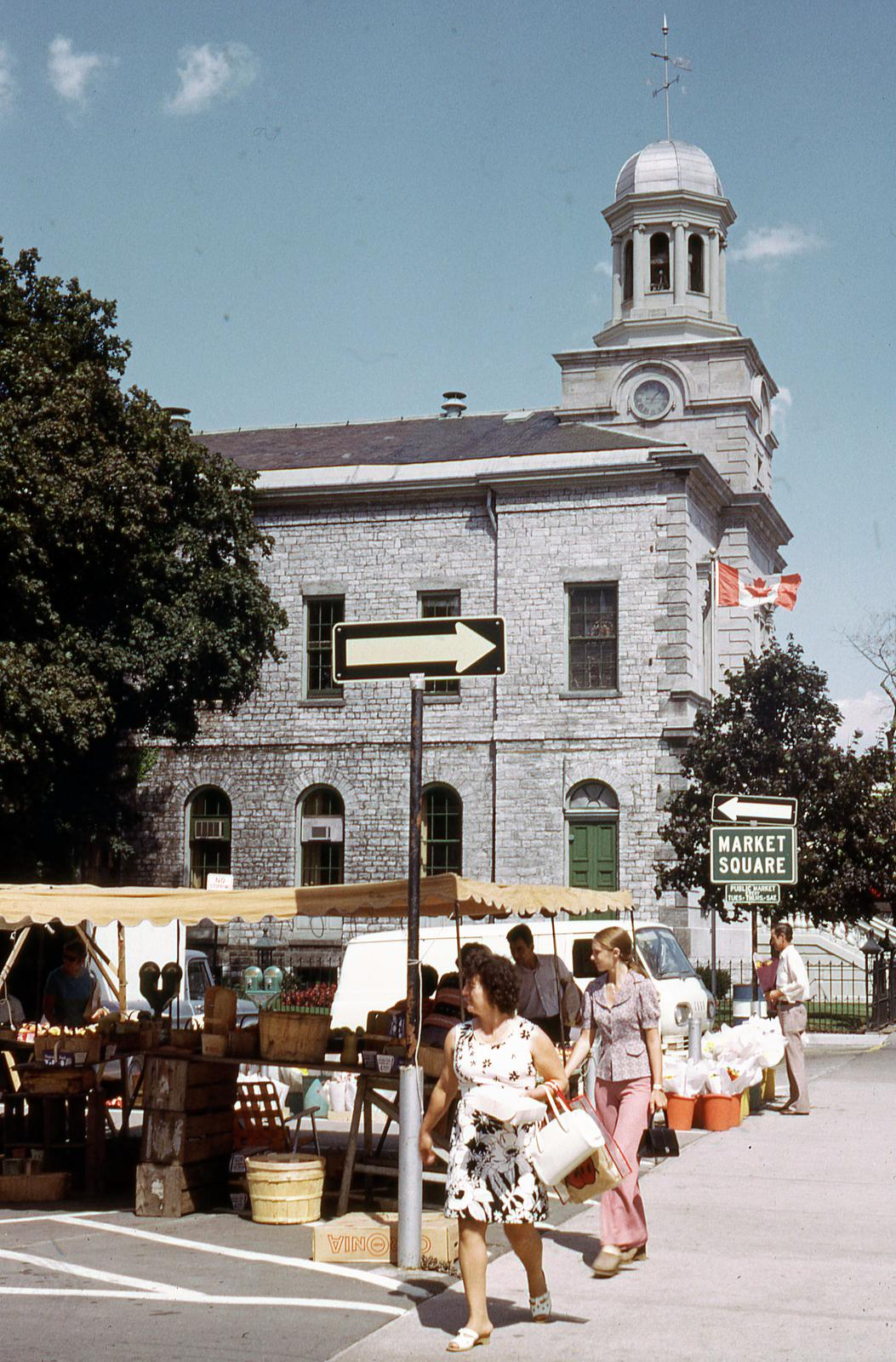 Market Square and the Old Courthouse