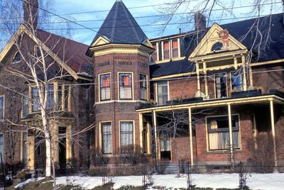 The Winchester-Larkin House at the Corner of King & Academy Streets