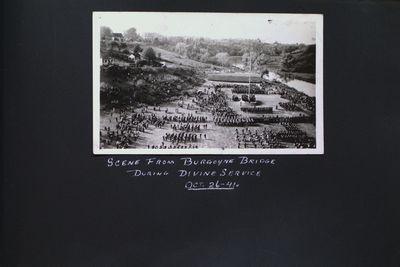 "The ""Renown"" Barracks & Kinavy Park Dedication Service"