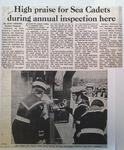 """""""Renown"""" Sea Cadets Annual Inspection"""