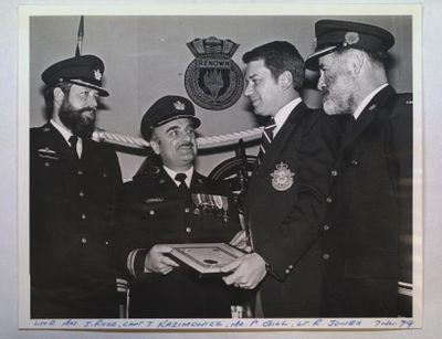 """A Change in Command at RCSCC """"Renown"""""""