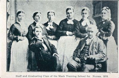 Mack School of Nursing Graduating Class and Staff