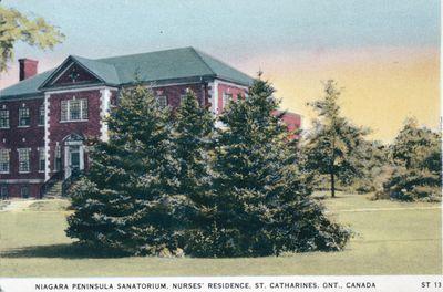 Niagara Peninsula Sanatorium Nurses' Residence