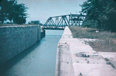 The CN Railway Bridge Across the Third Welland Canal