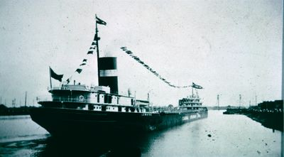 S.S. Lemoyne in the Welland Ship Canal
