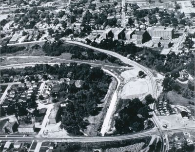 An Aerial View of Centennial Gardens