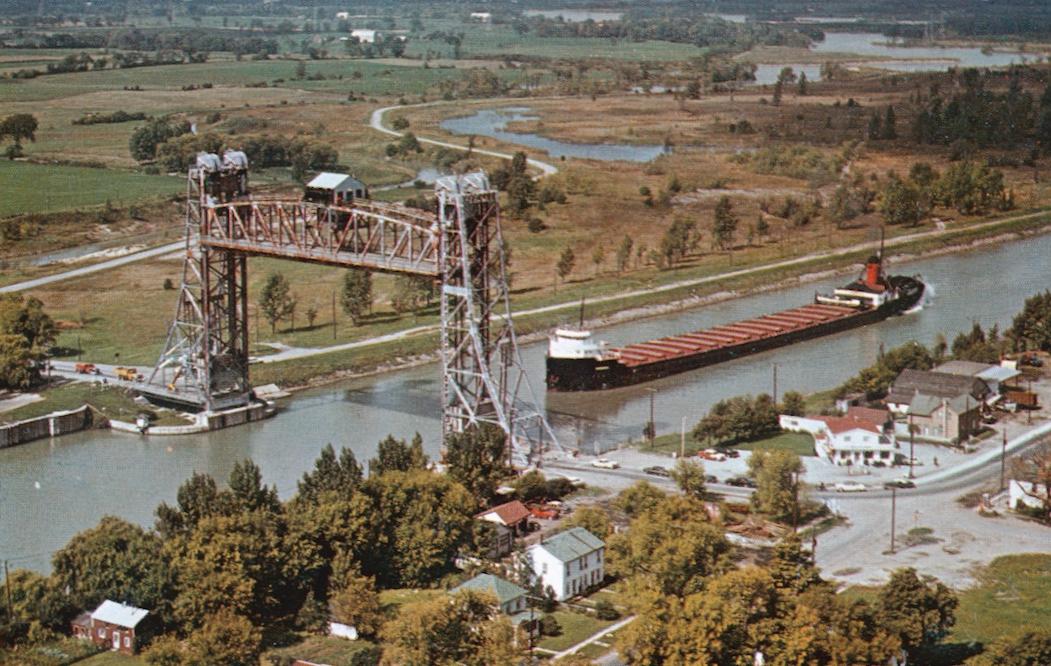A Ship Passing Underneath Bridge 11