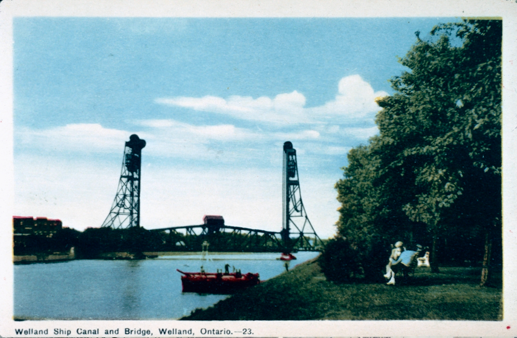 Bridge 16 on the Welland Ship Canal