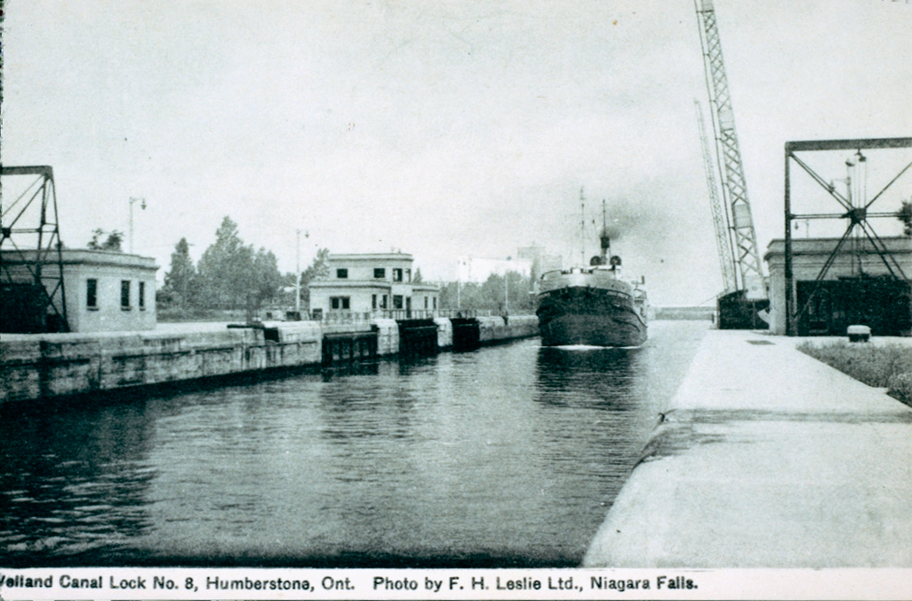 Lock 8 on the Welland Ship Canal