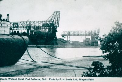The Entrance to the Welland Ship Canal