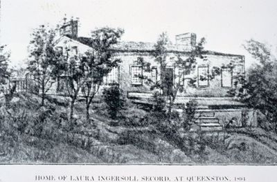 Laura Secord's Home at Queenston