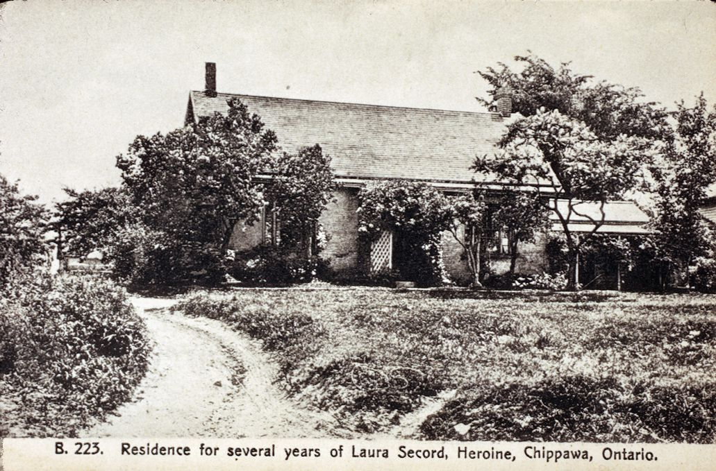 Laura Secord's House in Chippawa