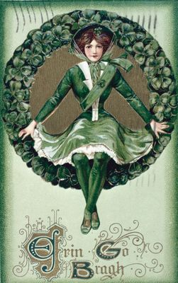 A St. Patrick's Day Greeting Card