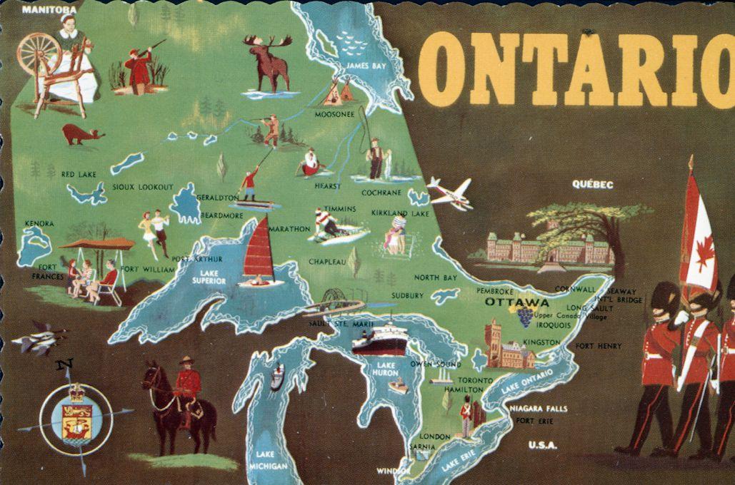 A Tourist Map of Ontario