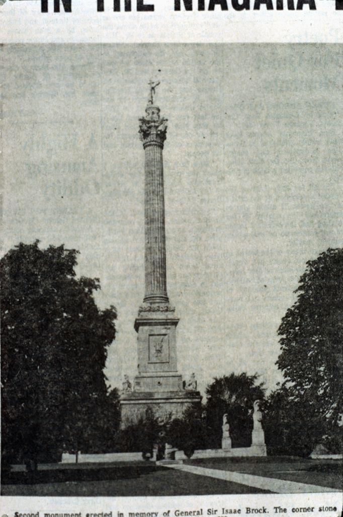 Brock's Monument, Queenston Heights