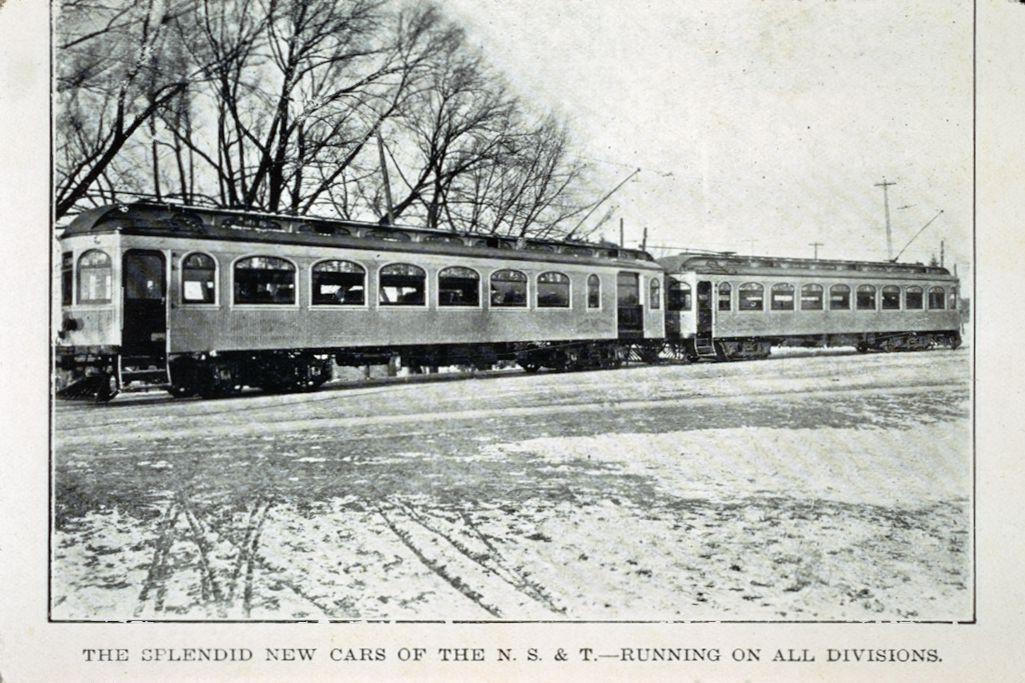 N.S.& T. Railway Cars