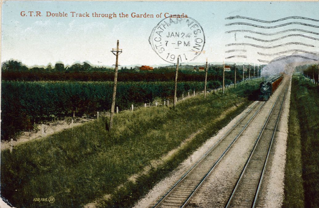 The Grand Trunk Railway Double Track