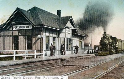 The Grand Trunk Railway Port Robinson