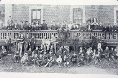 A Group of Students at Ridley College