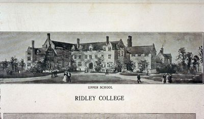 The Upper School at Ridley College