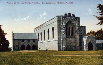 Memorial Chapel, Ridley College