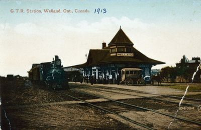 The G.T.R. Station, Welland