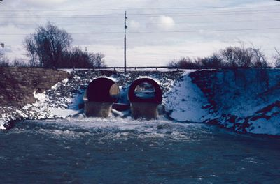 The Old Welland Canal under Glendale Avenue