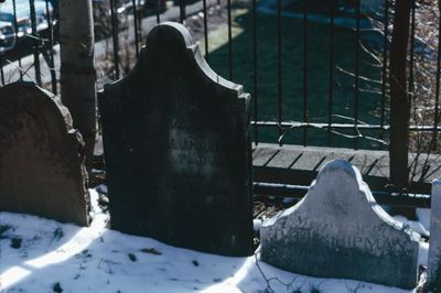 Gravestones at St. George's Anglican Church