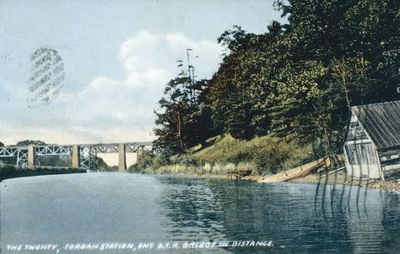 Twenty Mile Creek at Jordan Station