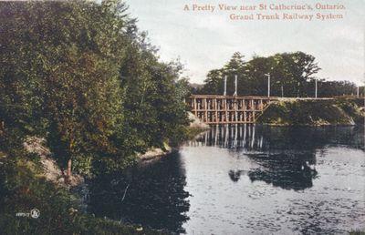 The Grand Trunk Railway Bridge across Martindale Creek