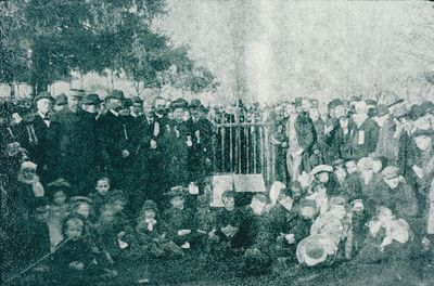 A Tree Planting Ceremony at Montebello Park