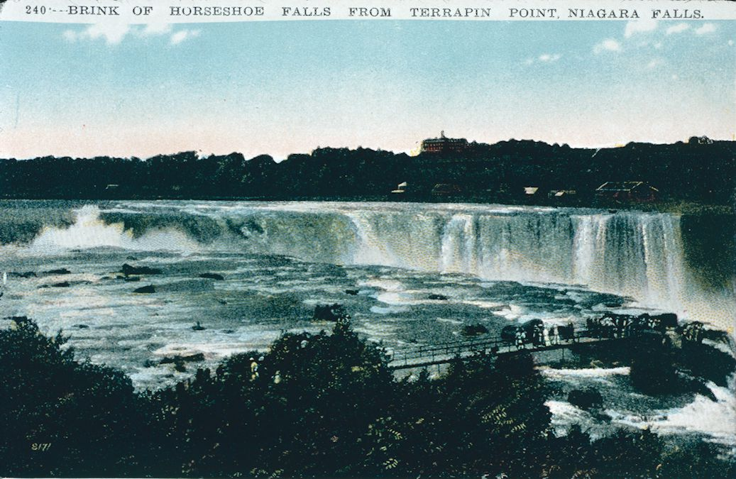The Brink of the Horseshoe Falls