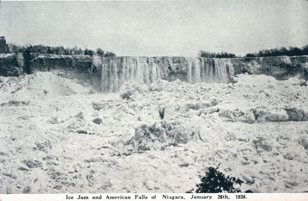 Ice Jam and the American Falls