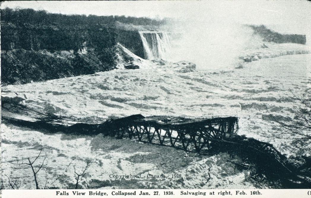 The Falls View Bridge After Collapse