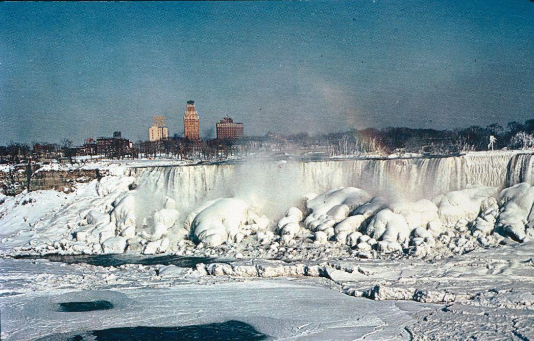 The American Falls in Winter