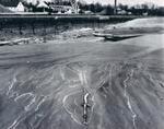 Low water level of Lake Ontario
