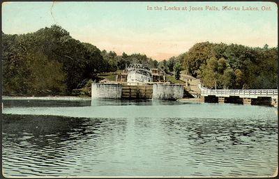 In the Locks at Jones Falls, Rideau Lakes, Ont., Smith Falls