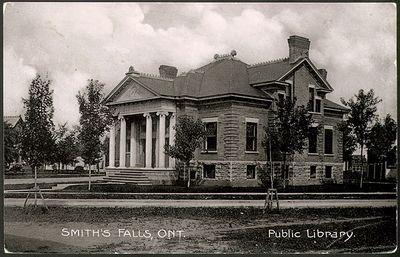 Smith's Falls Public Library Postcard